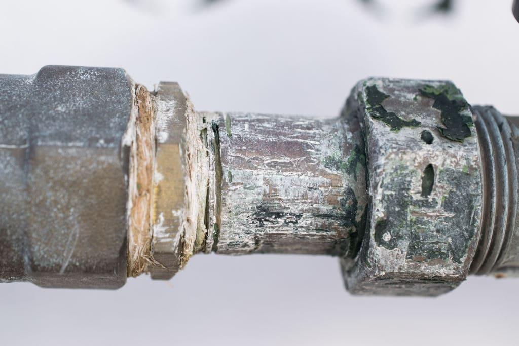 problemas con el caudal de las tuberías