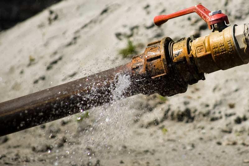 mantenimiento de las tuberías